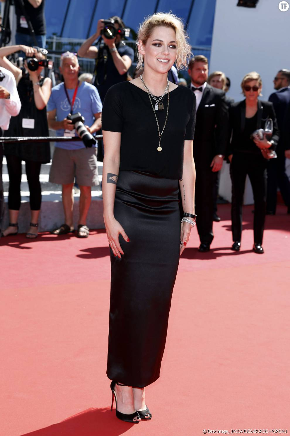 Kristen Stewart sous les yeux de sa compagne Alicia Cargile au Festival de Cannes
