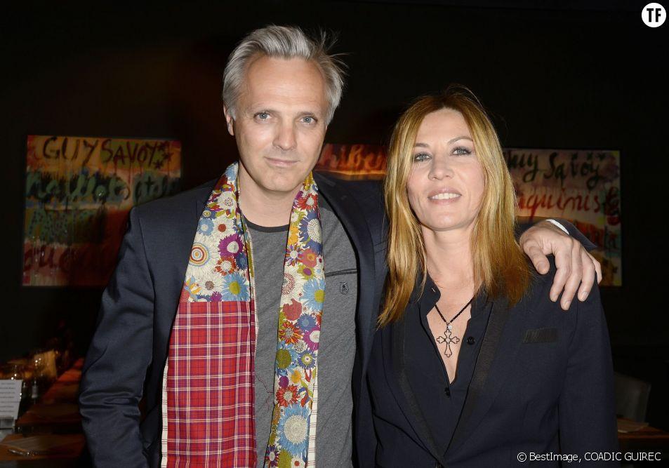 Mathilde Seigner et son compagnon Mathieu Petit