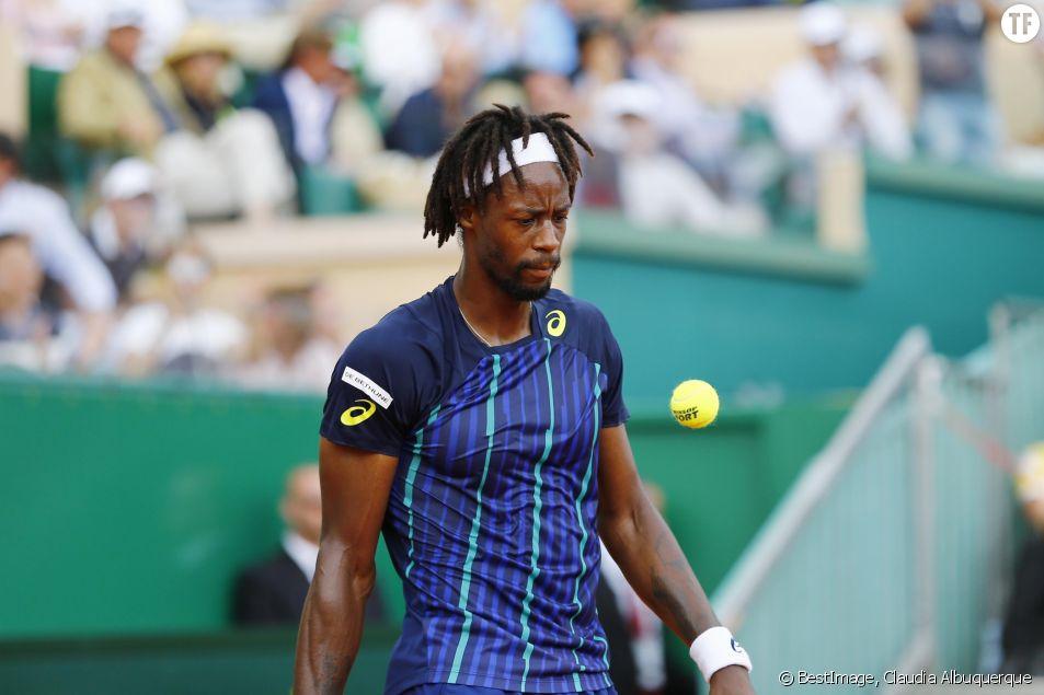 Le tennisman français Gaël Monfils