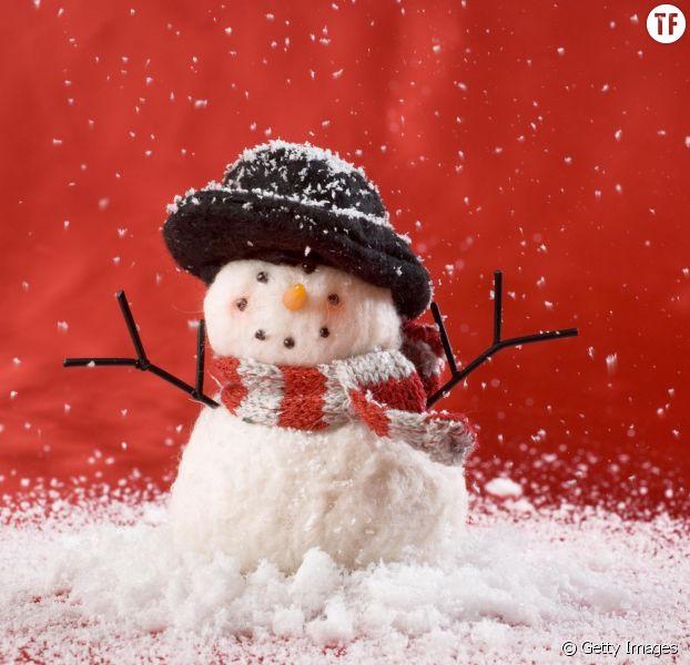 Diy de no l comment fabriquer de la fausse neige - Fabriquer un bonhomme de neige ...