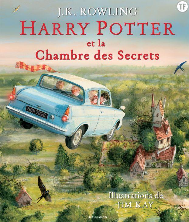 Harry Potter et la chambre des secrets (illustré)