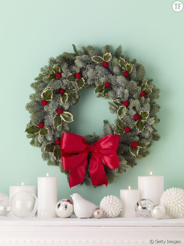 Décorez vous-mêmes vos couronnes de Noël pour une déco originale