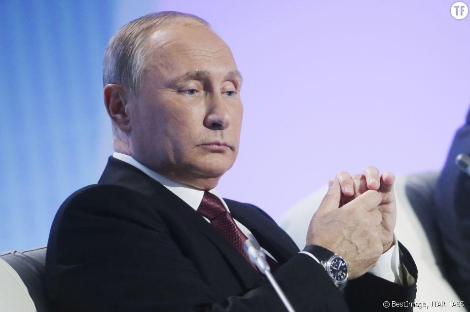 Le président russe, Vladimir Poutine