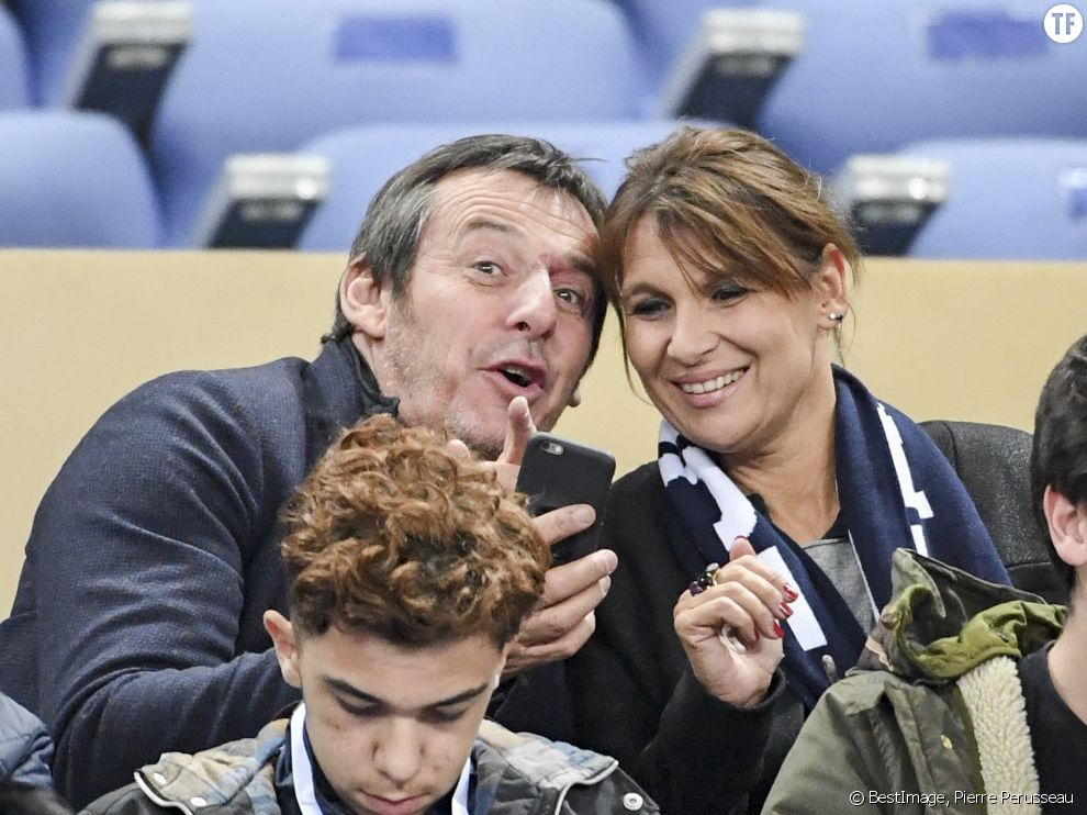 Jean-Luc Reichmann et son épouse Nathalie