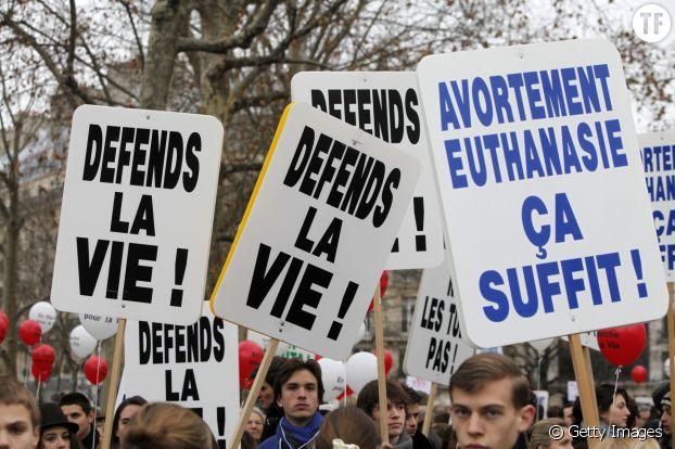 Une campagne pro-vie contre l'avortement en France