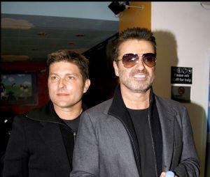 George Michael et son compagnon Kenny Goss en 2007