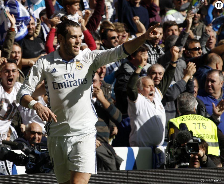 Gareth Bale contre Leganès à Madrid le 6 novembre 2016