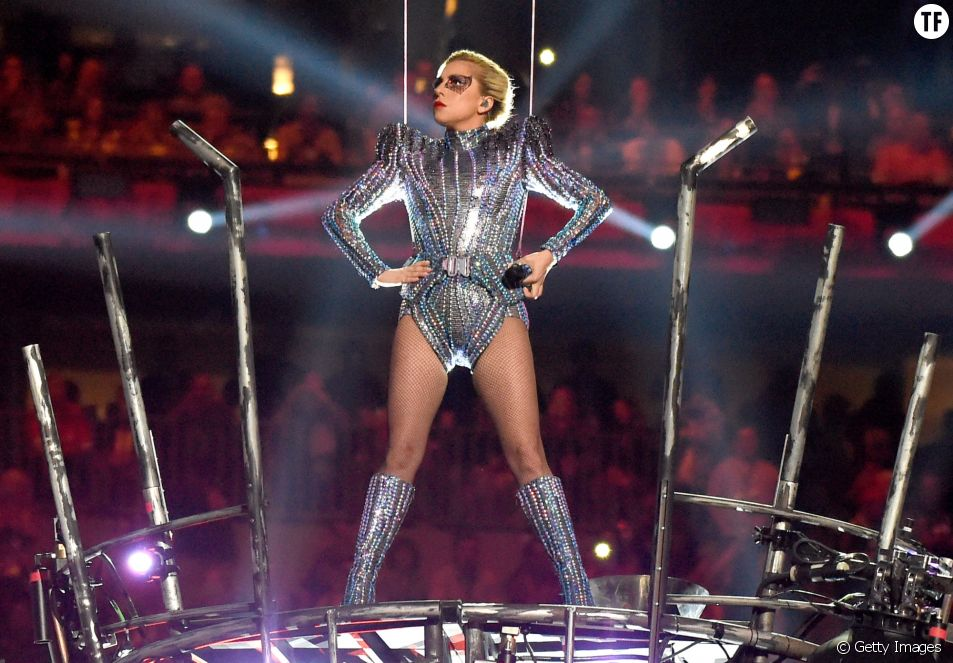 Lady Gaga au Super Bowl