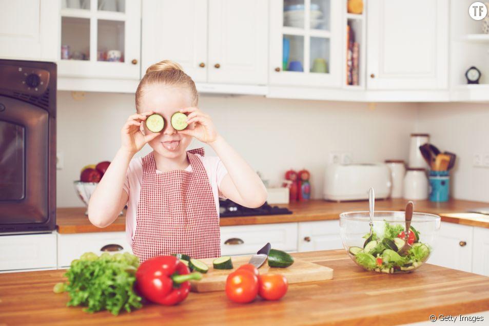 Cuisiner bio et bon avec les enfants