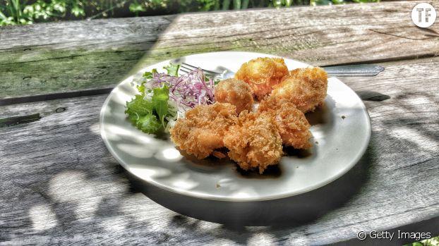 Nuggets de poulet au four