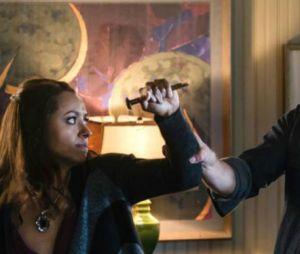 Stefan et Bonnie dans What Are You