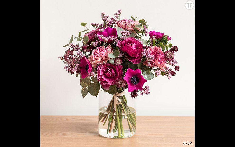 Bouquet Darjeeling,  39,90 euros livrable partout en France sur Bergamotte