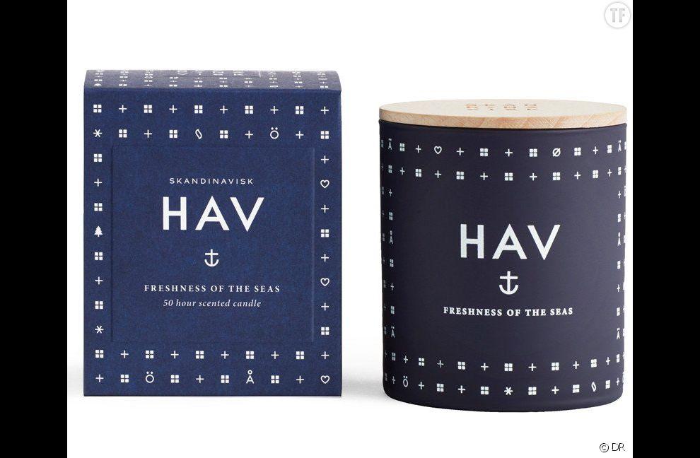 Bougie parfumée Hav de Skandinavisk,  35 euros sur Scandinavian Design Center