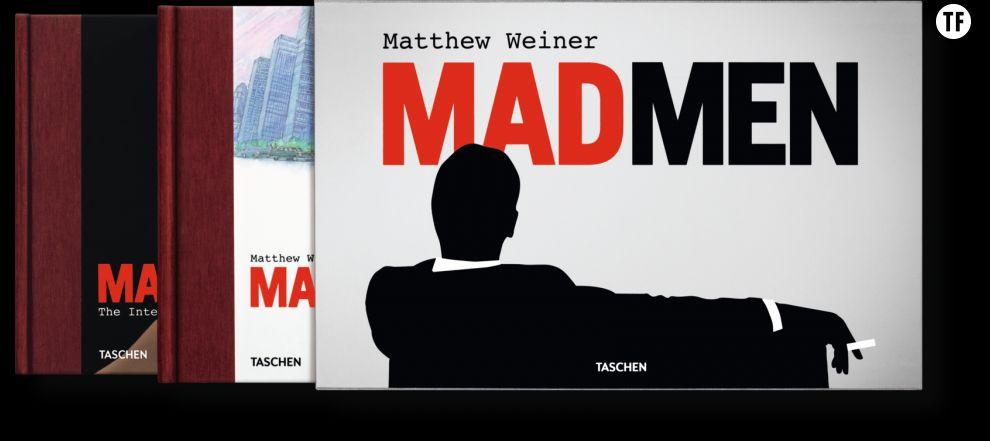 Matthew Weiner's Mad Men en 3 volumes, Éd. Taschen,  150 euros sur Amazon