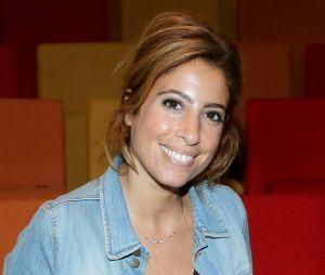 Léa Salamé à la conférence de presse de rentrée de Radio France le 31 août 201
