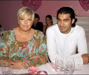 Laurence Boccolini et son mari Mickael en 2005
