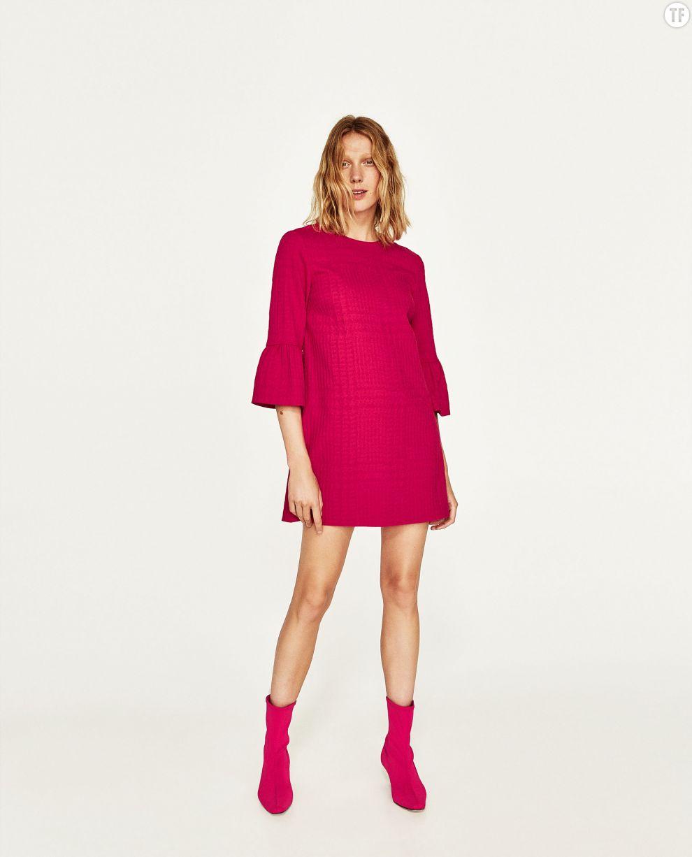 Robe courte Zara, 39,95€