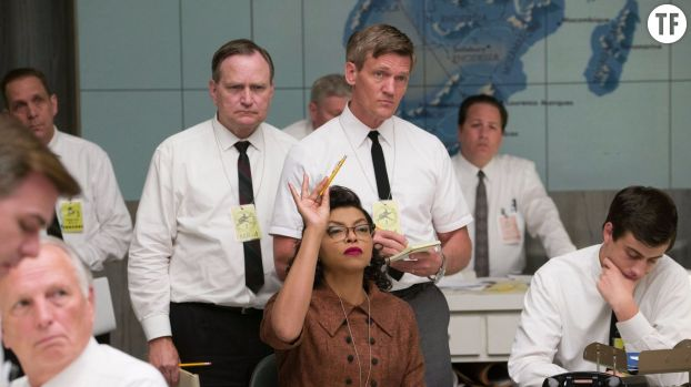 "La scientifique de la Nasa Katherine Johnson (Taraji P. Henson) dans ""Les Figures de l'ombre"""