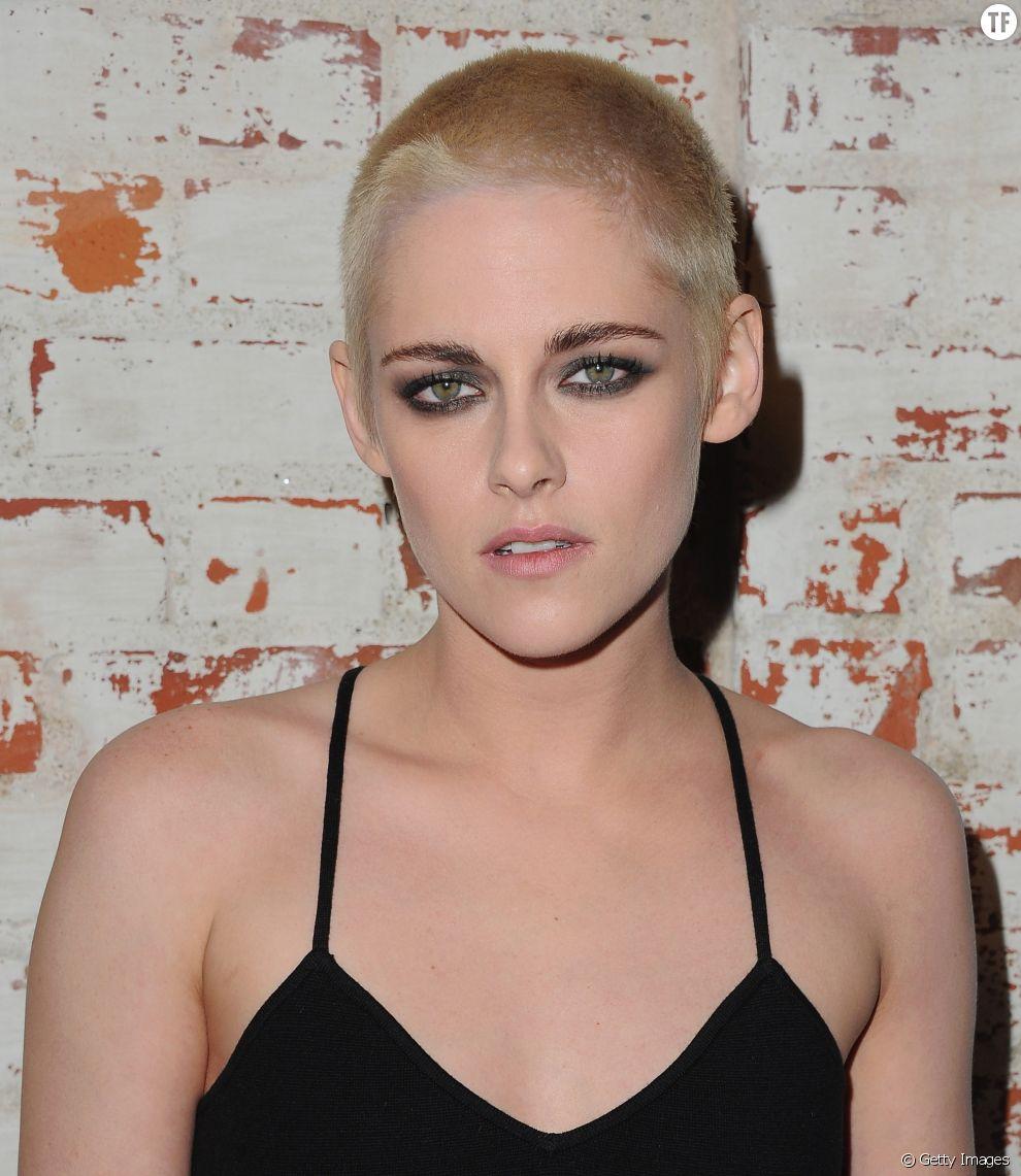 Kristen Stewart s'est rasé la tête pour les besoins d'un film en 2017