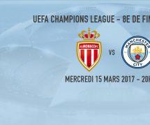 Monaco vs Manchester City : heure, chaîne et streaming du match (15 mars)