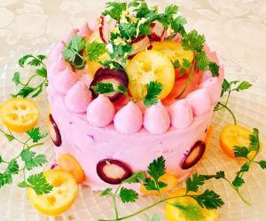 "Le ""salad cake"", le gâteau salé qui affole les foodistas"