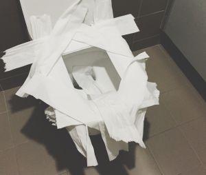 Mettre du papier sur la lunette des toilettes, ça marche vraiment ?