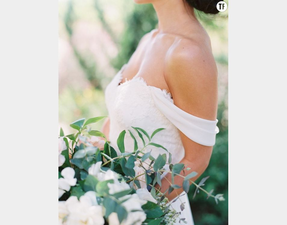 Voici le modèle de robe de mariée qui fait fureur sur Pinterest