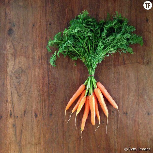 Pour faire du bien à ses dents, on mange de la carotte