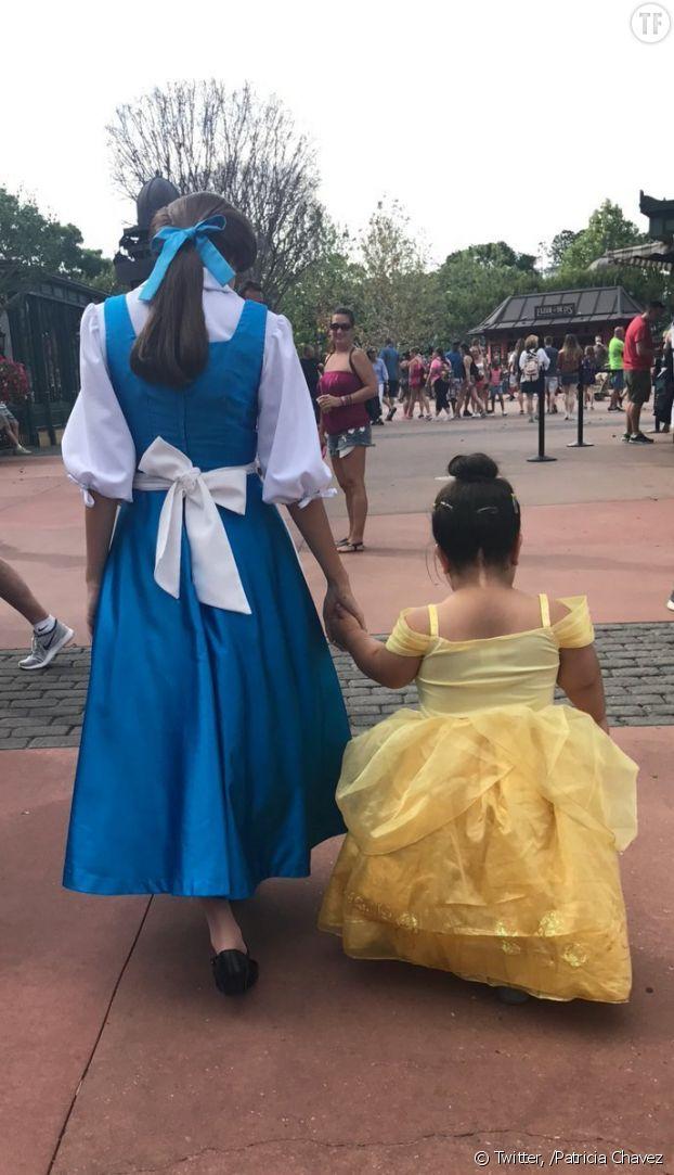 La rencontre entre Daisy et Belle a ému des milliers d'internautes