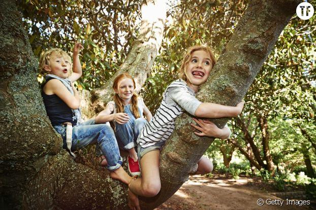 Les jeux en extérieur bénéfiques aux enfants
