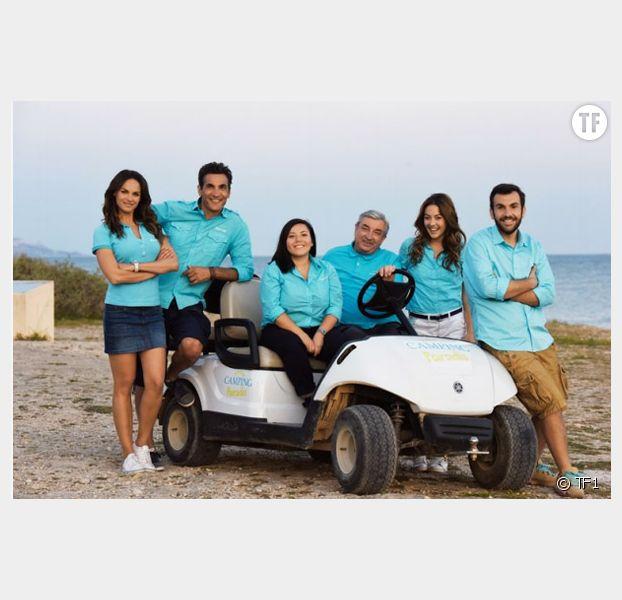 Camping Paradis largement leader (TF1), la TNT en forme