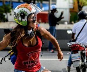 Caterina Ciarcelluti, l'ex-mannequin devenue symbole de la lutte au Venezuela