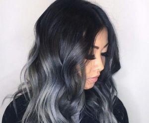 Les cheveux charbon, la coloration pour celles qui en ont marre des licornes