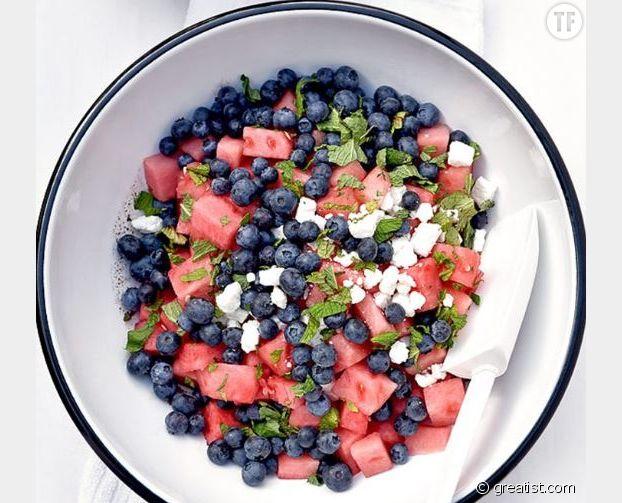 Salade de fruits à la féta