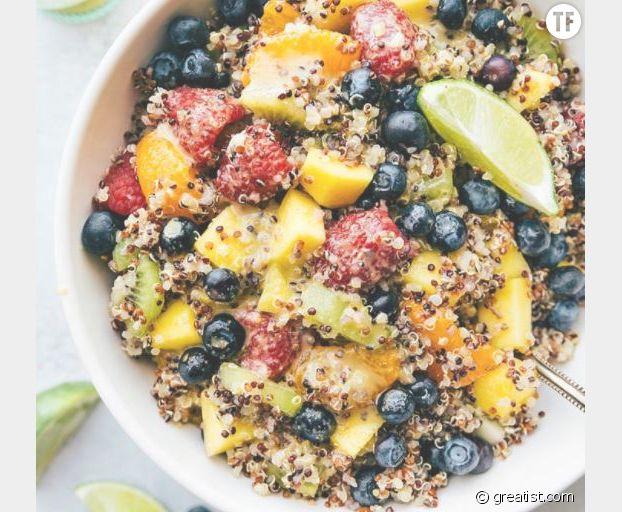 Salade de fruits au quinoa