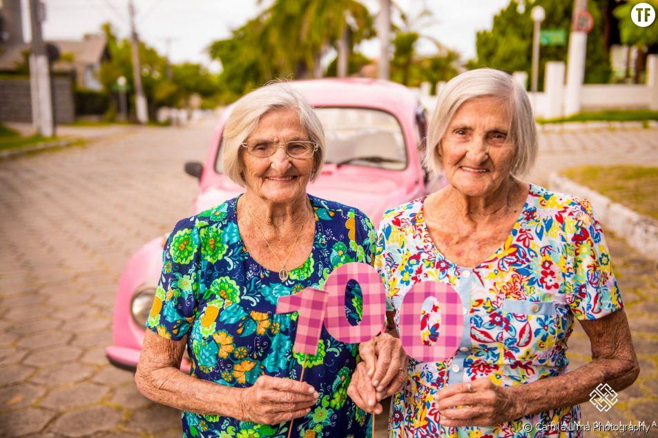 Ces Mamies Jumelles Ont Fêté Leur 100e Anniversaire Avec Un