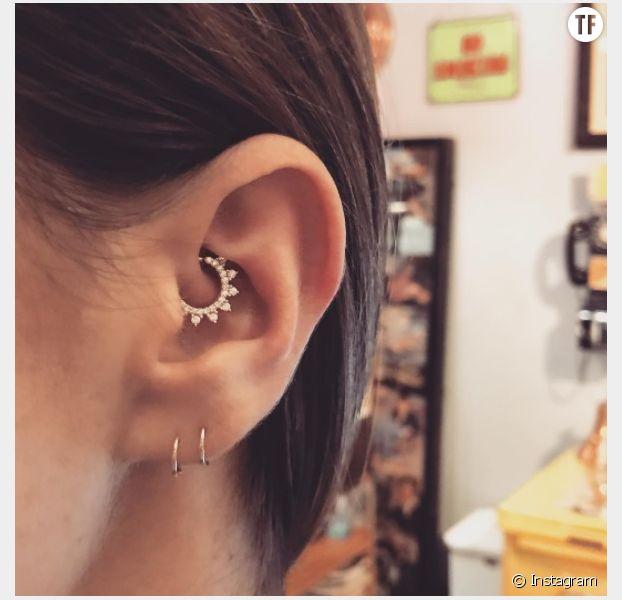 Daith piercing la nouvelle tendance piercing d 39 oreille for Interieur oreille