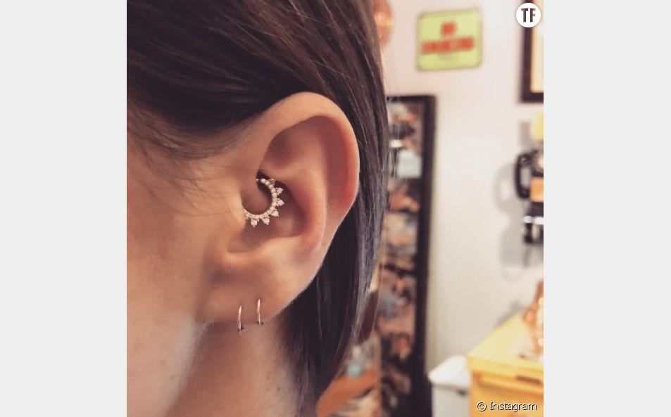 Le daith piercing, la nouvelle tendance qui cartonne sur Instagram