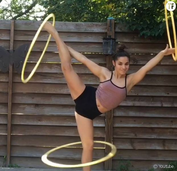 Brookelynn Bley et son incroyable don pour le hula-hoop