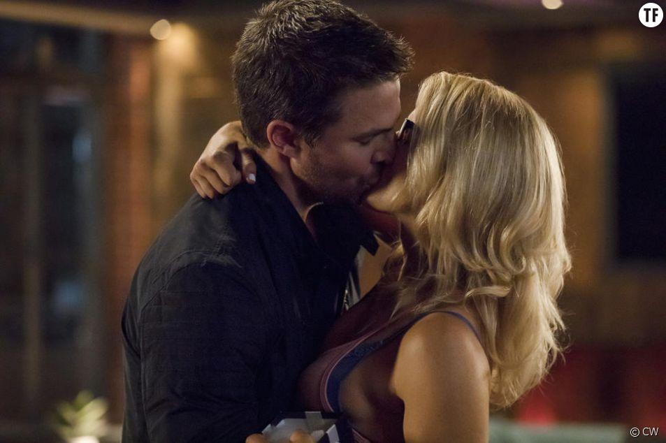 Felicity et Oliver amoureux