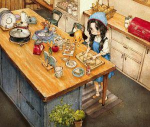 Cette artiste a merveilleusement illustré le bonheur d'être seule