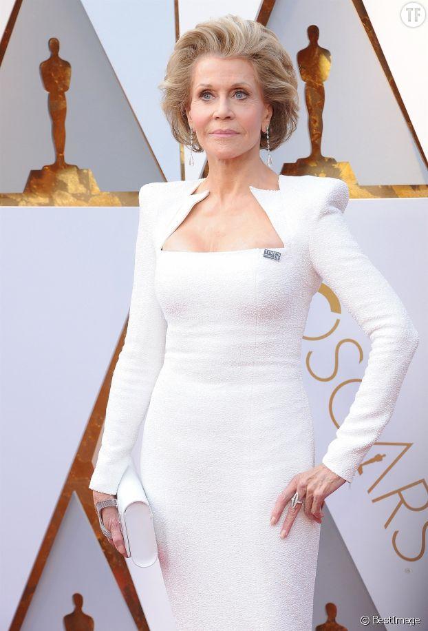 Jane Fonda à la 90e cérémonie des Oscars