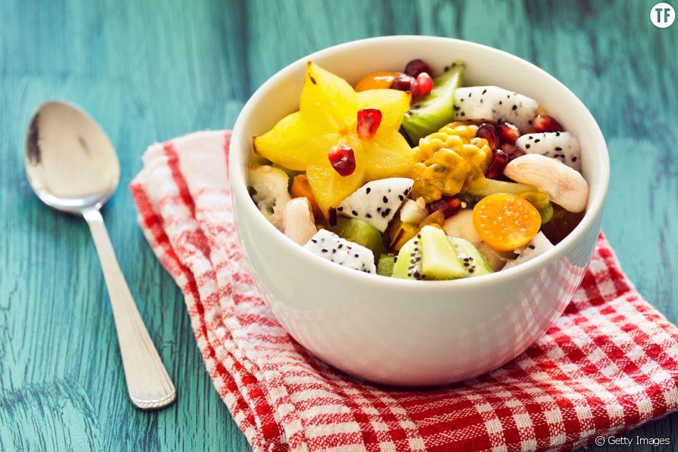 La vraie recette de la salade de fruits d'hiver