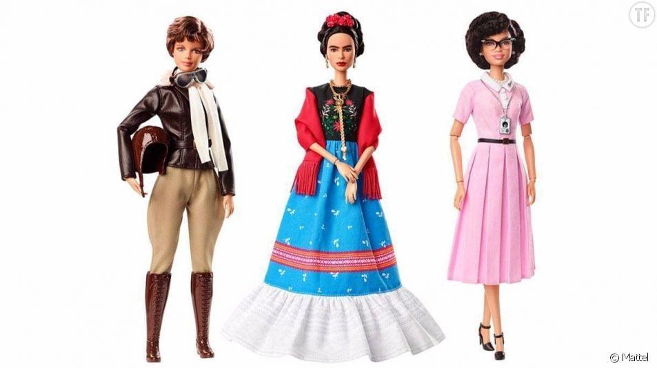 La marque Mattel lance 14 nouvelles poupées Barbie inspirées de femmes qui ont marqué l'histoire