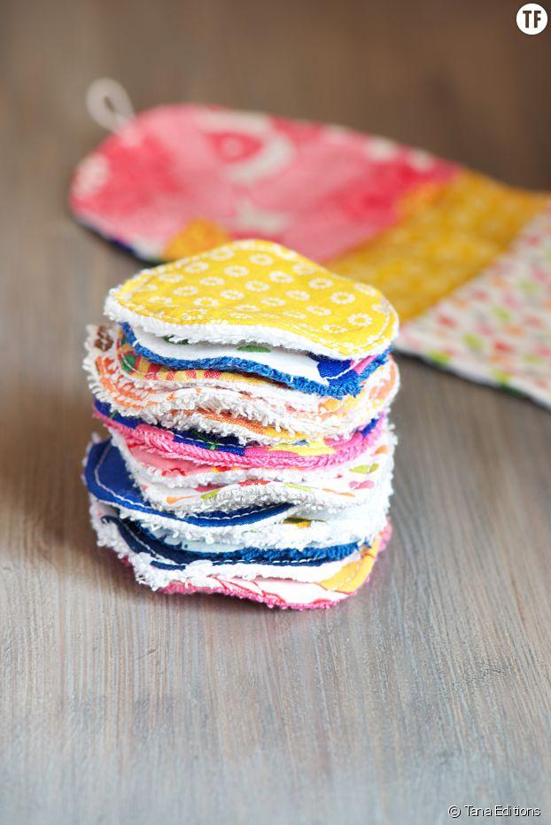 Fabriquer des lingettes lavables