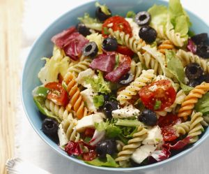 La recette facile de la salade de pâtes méditerranéenne