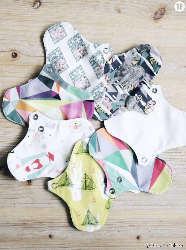 Les serviettes lavables Dans Ma Culotte