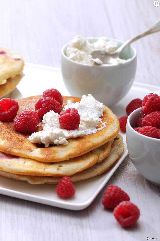 La recette inratables des pancakes à la framboise