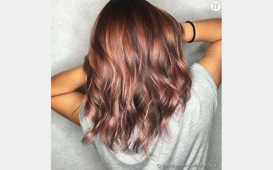 Le Rose Brown Hair est la coloration qui va ravir les brunes.