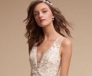 Les robes de mariée champagne, la tendance phare de 2018